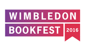 logo and link for Wimbledon Bookfest