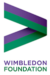 link and logo for The Wimbledon Foundation