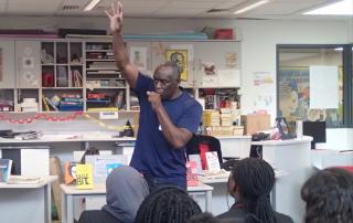 Alex Wheatle Book Clubs in Schools