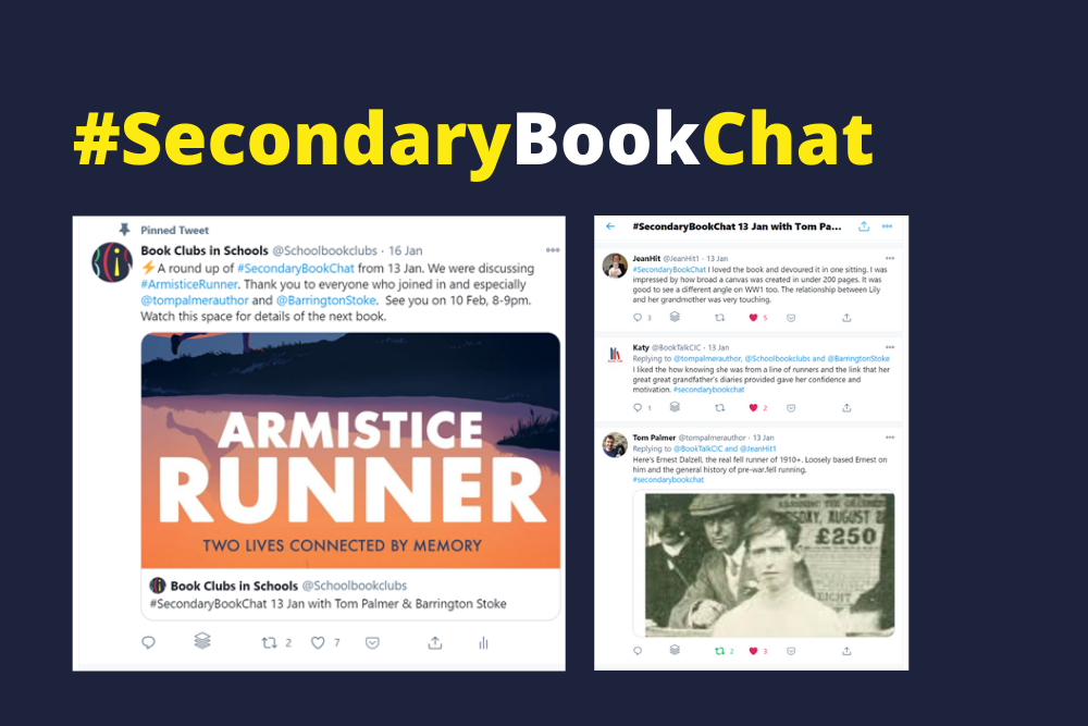 Secondary Book Chat Tom Palmer