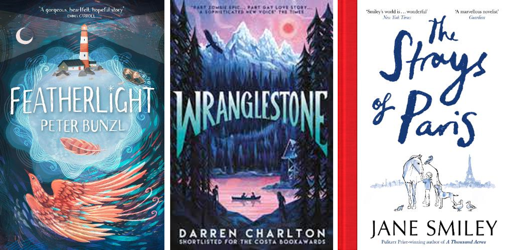 What to read now, ya books
